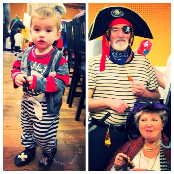 Pirate party outfits