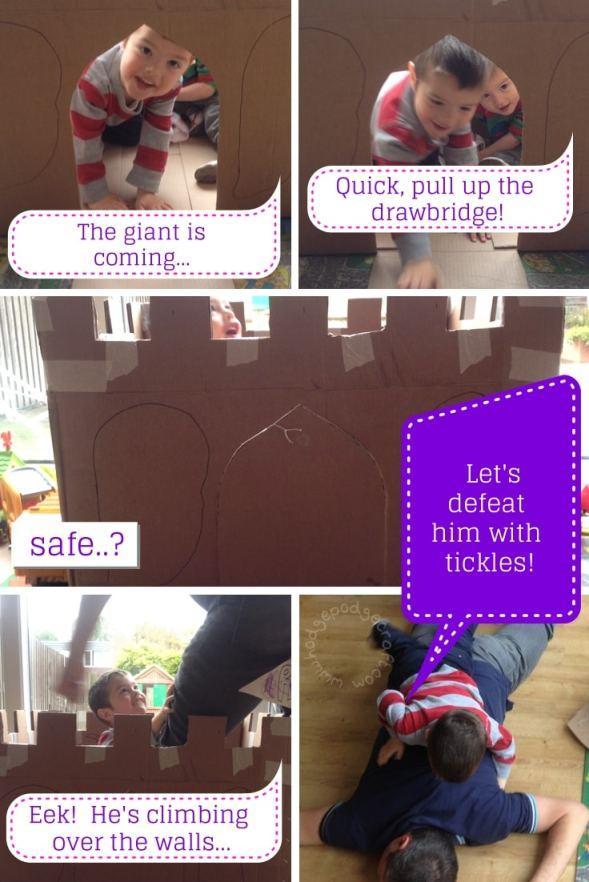Cardboard Castle photo story