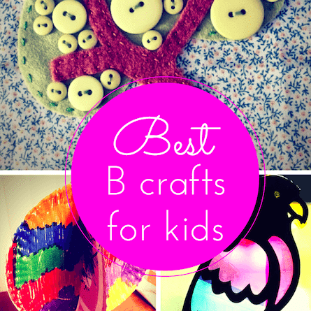 B craft ideas for kids thumbnail