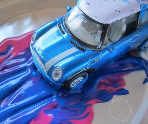 Z is for zoom car plus paint