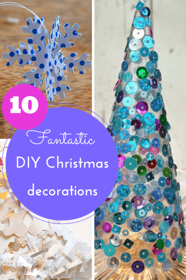 10 DIY Christmas decorations for kids