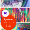 10 easy rainbow crafts for kids