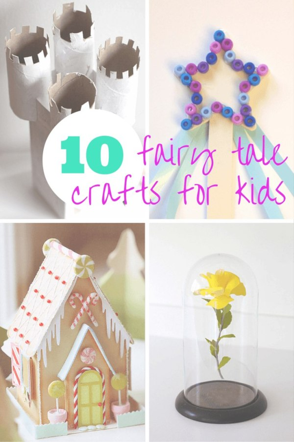 10 fairy tale crafts for kids for Fairy crafts for toddlers