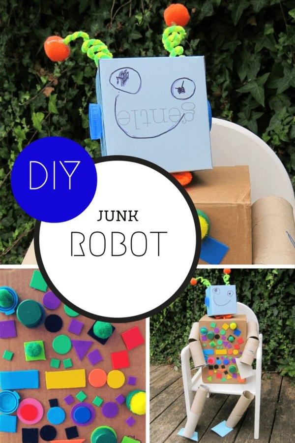 DIY junk ROBOT