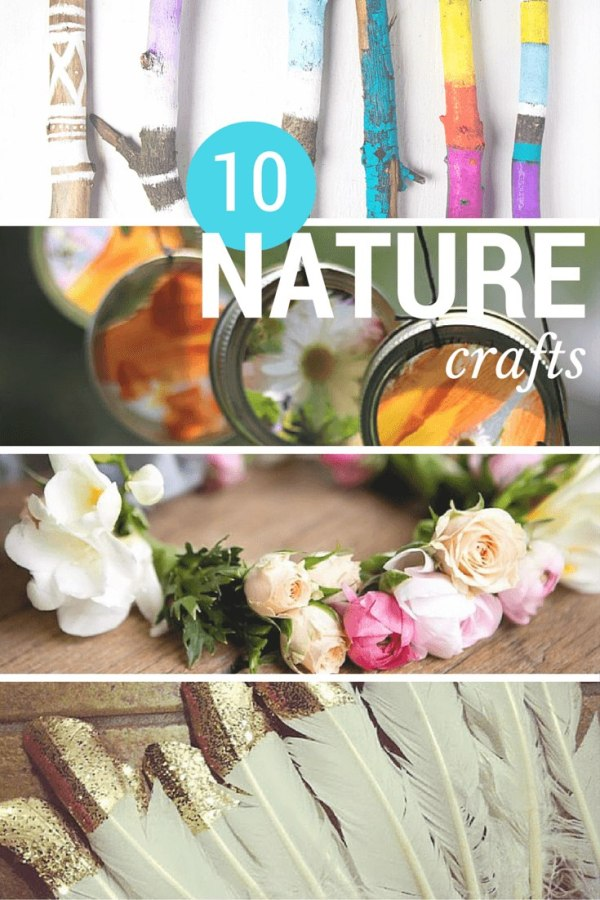 10 notable nature crafts