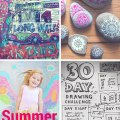 Ideas & prompts for Summer drawings