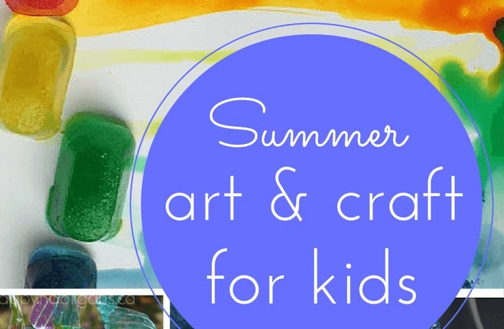 Summertime art and craft for kids