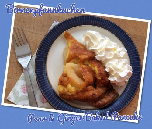 Birnenpfannkuchen