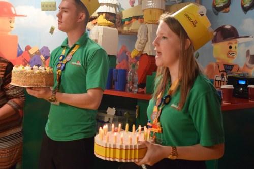 Legoland Manchester birthday party