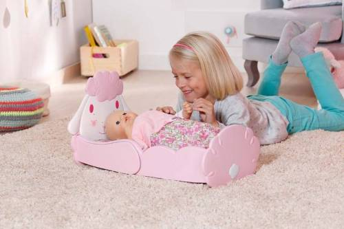 Baby Annabell sheep bed