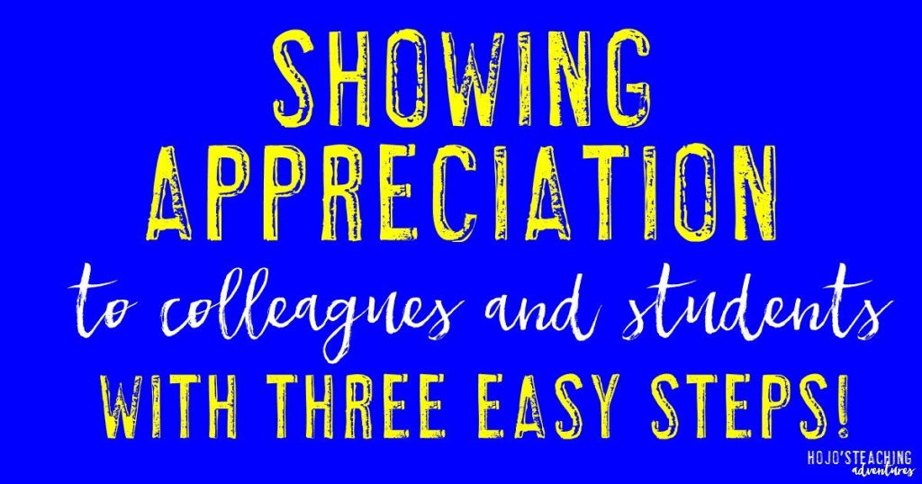 how to show appreciation to others essay