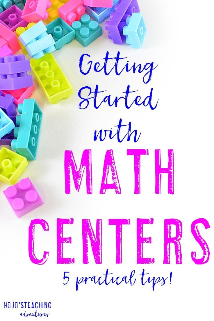 Does getting started with math centers overwhelm you? No worries! With the five steps outlined in this blog post, you'll be ready to start them with just a little work on your end. These tips work in ANY elementary classroom, so if you're a Kindergarten, 1st, 2nd, 3rd, 4th, 5th, or 6th grade teacher - check them out!