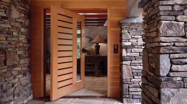 Hol chile fabricantes de puertas revestimientos chapas for Disenos de puertas rusticas en madera