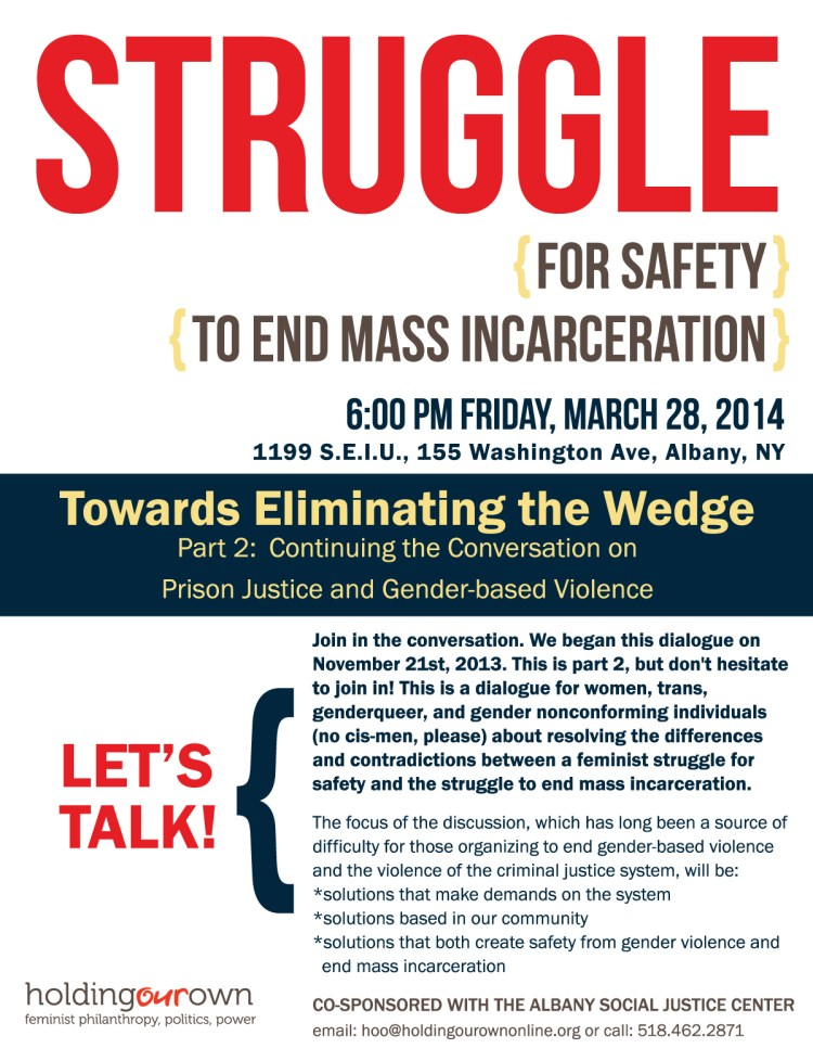 prisoner justice event march 2014