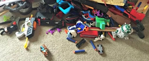 How We're Banishing Toy Clutter, For Good