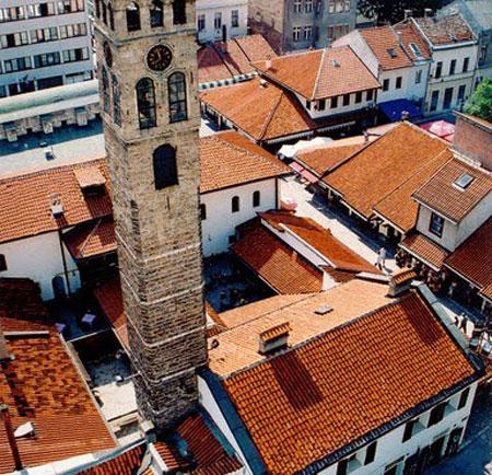 Clock-tower-Sarajevo