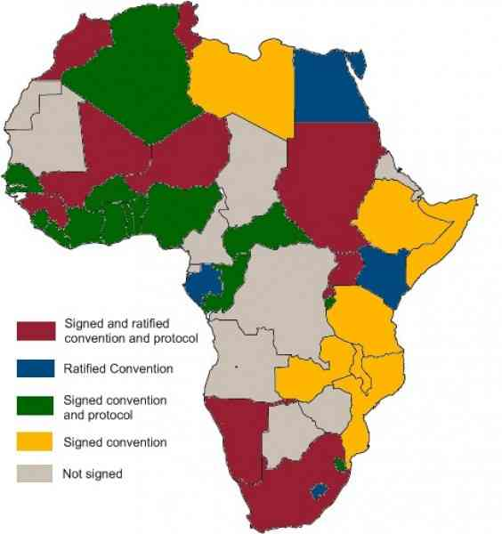map of africa s resources