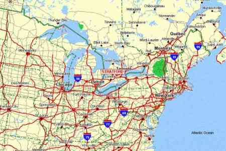 eastern us map map holiday travel holidaymapq.com