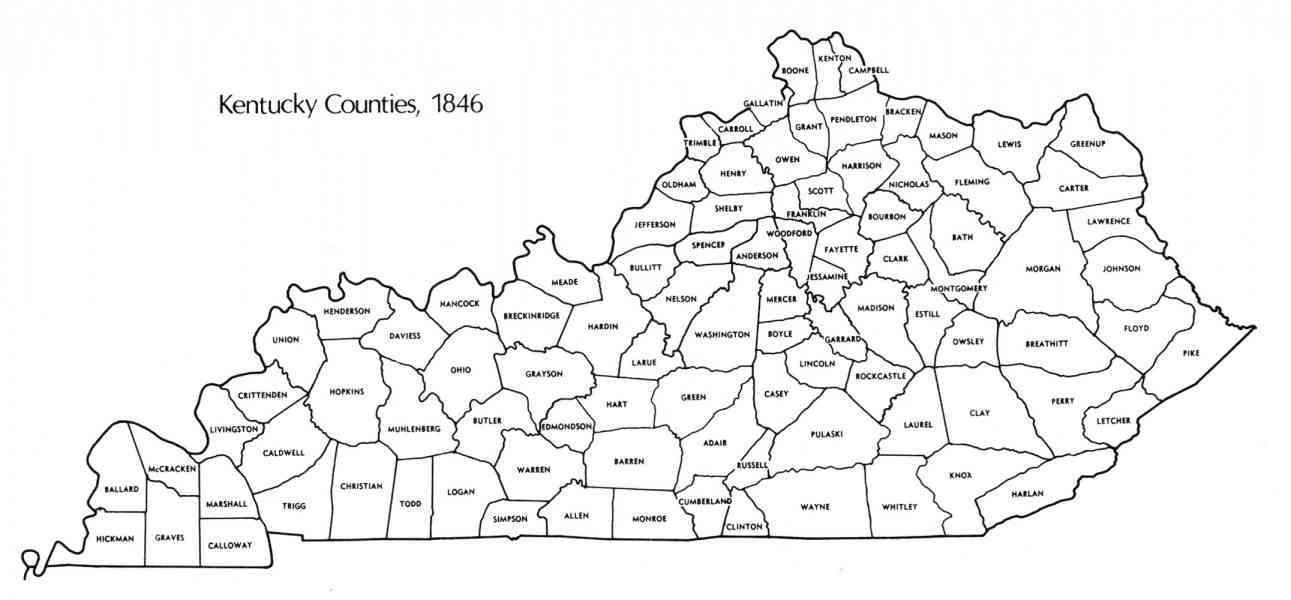 kentucky map counties » Full HD Pictures [4K Ultra] | Full Wallpapers
