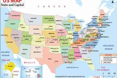 Map Of The United States With Longitude And Latitude - Latitude us map