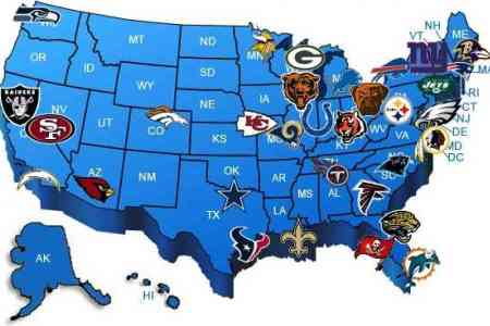 map of nfl teams map holiday travel holidaymapq.com