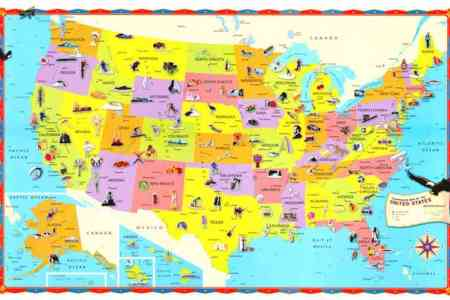 map of the united states for kids map holiday travel