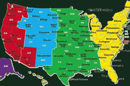 time zones map of united states pictures to pin on pinterest