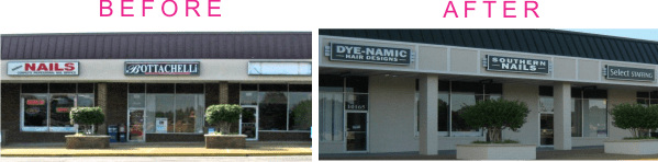 sign renovation examples-rockwood tenant signs