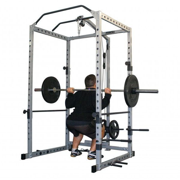 Power Cage and Squats