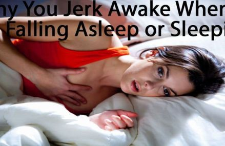 Have you ever woke from a deep sleep by a sudden rush or jerking motion?
