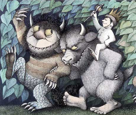 """Where The Wild Things Are"" best selling childrens book."