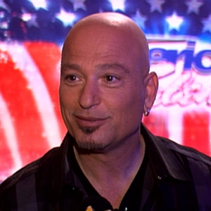 Howie Mandel as a judge on AGT.