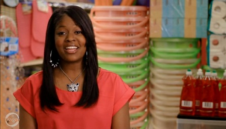Roshanda Hill talks about why she likes the 99 Cents Store.