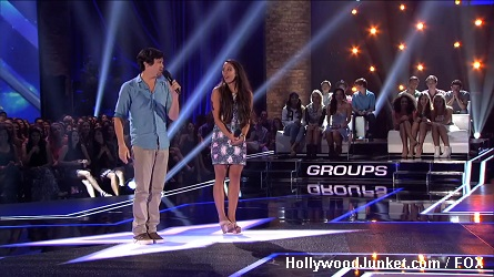 Alex & Sierra X Factor Four Chair Challenge