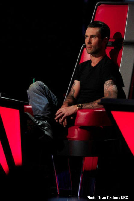 The Voice Adam Levine, the Fonze
