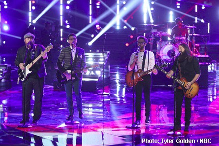 The Voice male contestants