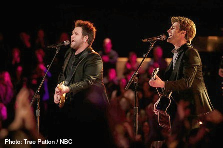 The VOICE, The Swon Brothers