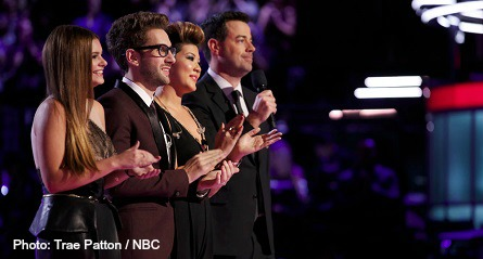 The Voice season 5 final three
