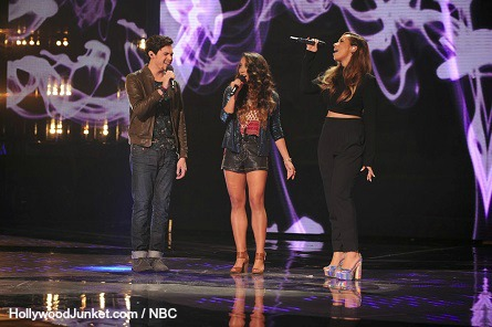The X Factor USA - Alex & Sierra, Leona Lewis