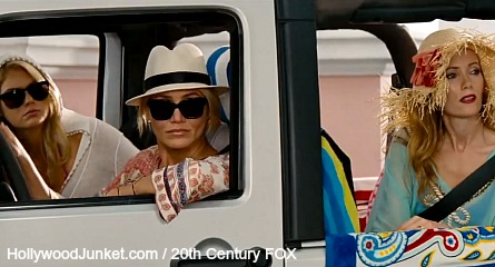 The Other Woman, kate upton, cameron diaz, leslie mann