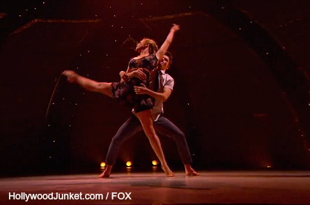 So You Think You Can Dance Top 18 - Teddy, Emily