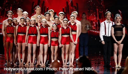 AGT season 9, AcroArmy, Blue Journey