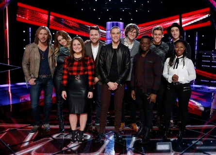 The Voice season 7 Top 10