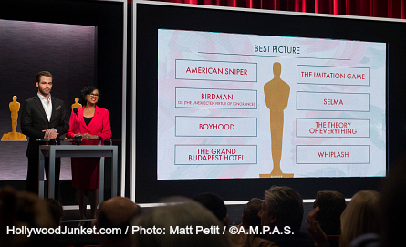 2015 Oscars Nominations Announcement, Best Picture