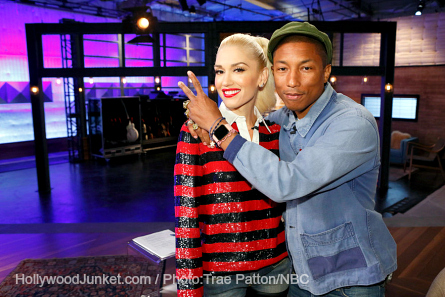 Pictured: Gwen Stefani, Pharrell Williams