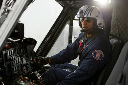 Dwayne Johnson in San Andreas movie