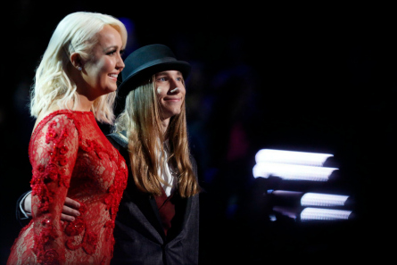 The Voice season 8 final two Meghan and Sawyer