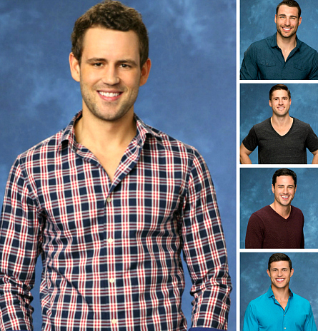 The Bachelorette, Nick, Ben Z, JJ, Ben H, Chris