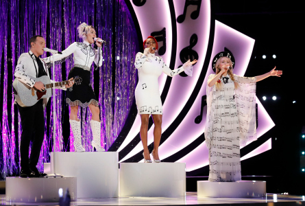 The Voice 11 Live Playoffs Team Miley