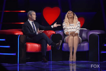 Love Connection 2017 FOX, Andy Cohen and contestant